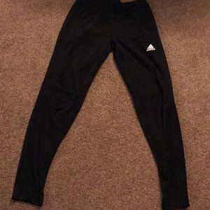 Addidas joggers w zippers